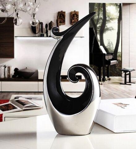 US $50.74 14% di SCONTO|Cabinet decorazione accessori Arredamento Per La  Casa ingresso soggiorno vino libreria decorazione morbido ceramica ...