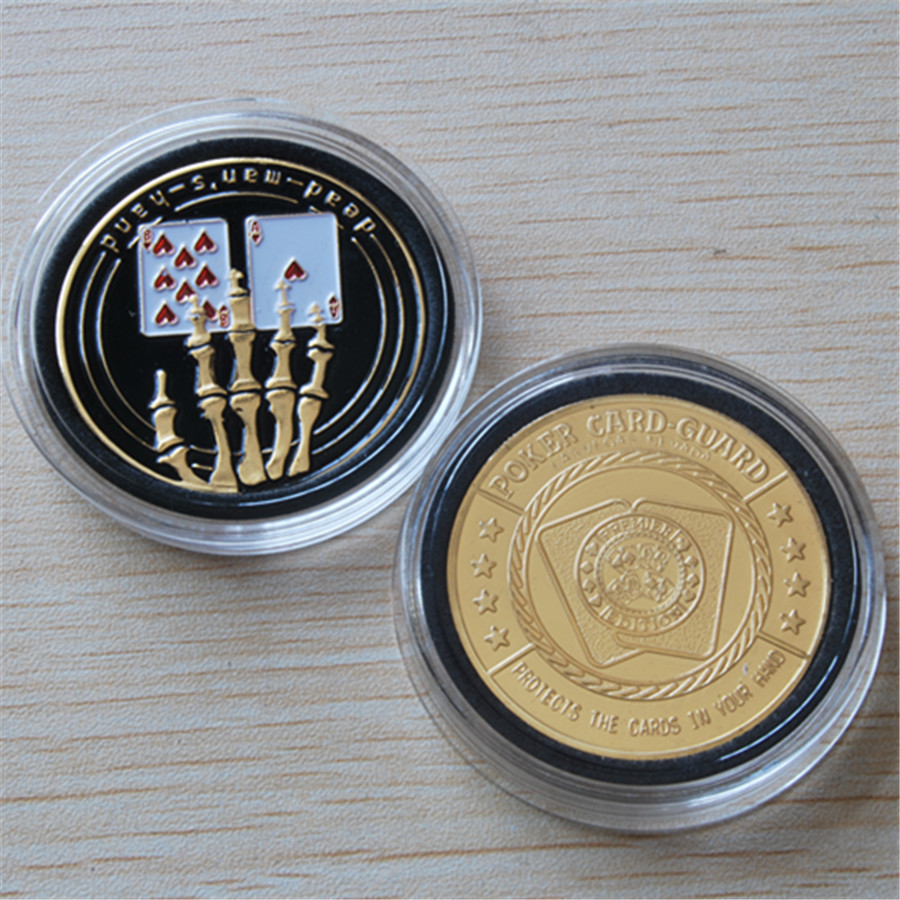 5pcs/lot Free shipping,Skeleton Hand Finger Bone Poker Coin