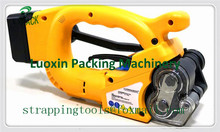 LX PACK Brand Portable Electric Strapping Tool Battery Powered Plastic Friction Welding Hand Strapping Tools for