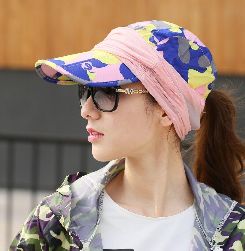 Summer Visor Sun Mesh Hat Women Can Folded Cap Summer Hats For Women With Neck Protection Baseball Hat For Men 2
