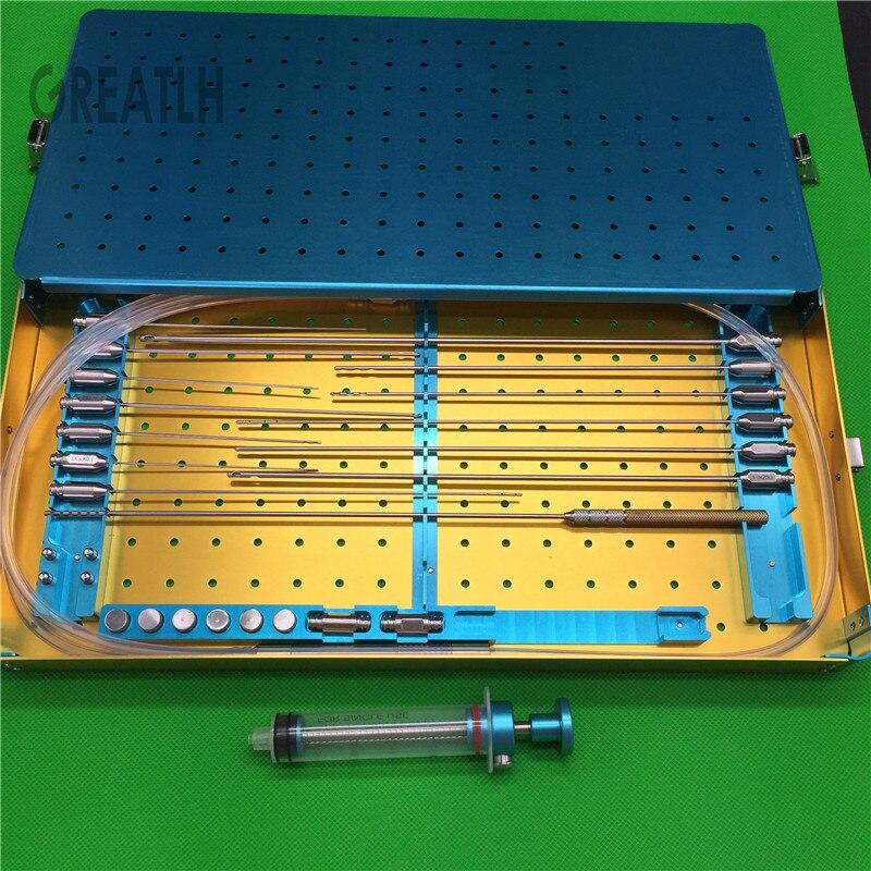 novo conjunto de enxerto de gordura agulha canula de lipoaspiracao de gordura lipo celulas estaminais e