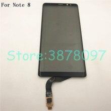 מקורי מסך מגע עבור סמסונג הערה 8 מגע מסך Digitizer זכוכית לוח עבור Samsung Galaxy הערה 8 Note8 N950 מגע פנל