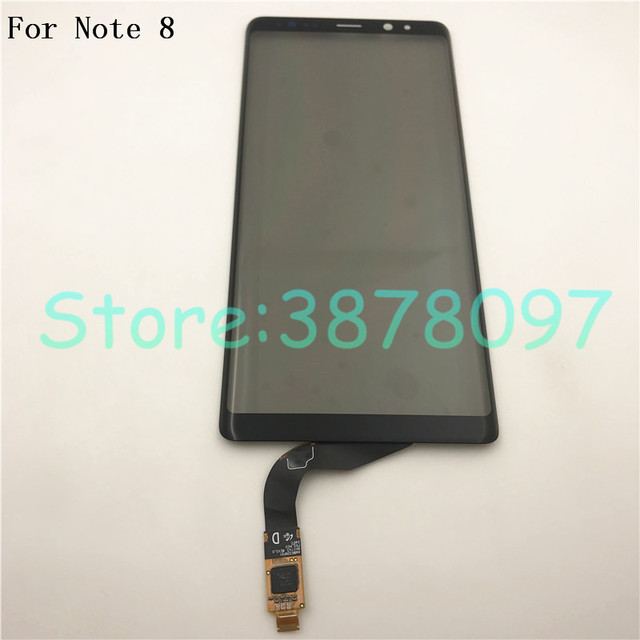 Оригинальный сенсорный экран для Samsung Note 8, дигитайзер сенсорного экрана, стеклянная панель для Samsung Galaxy Note 8, Note8, N950, сенсорная панель