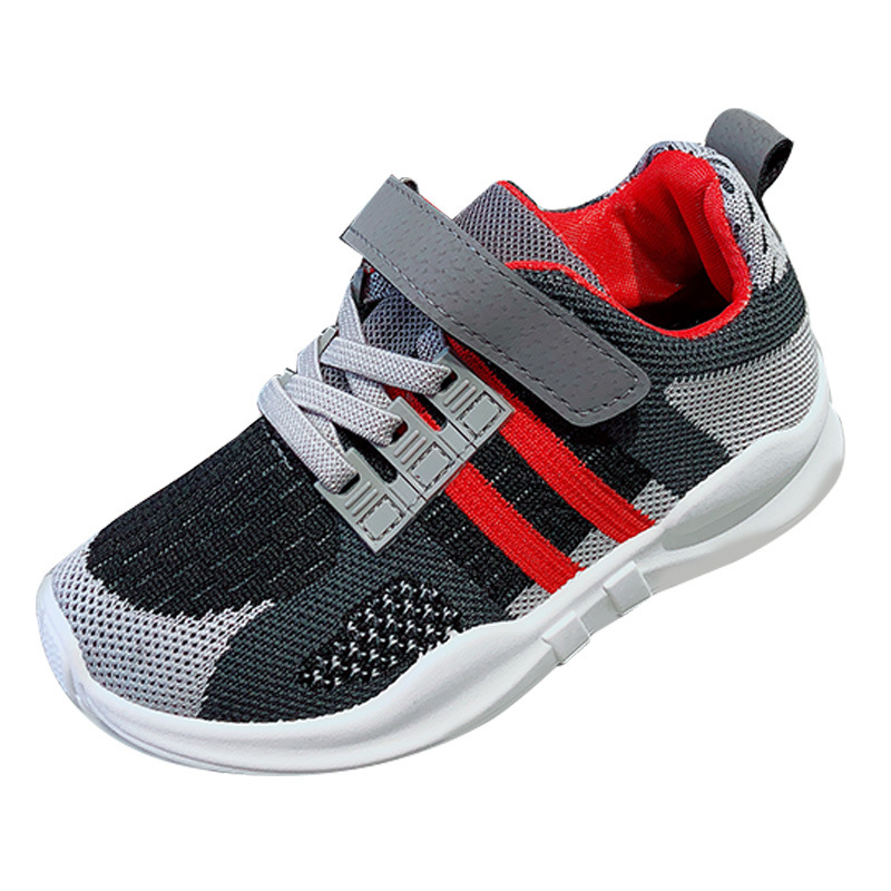 Sport Girls Shoes For Boys Sneakers Kids Casual Shoes Running Children Shoe Breathable Mesh Fabric Leather School Footwear