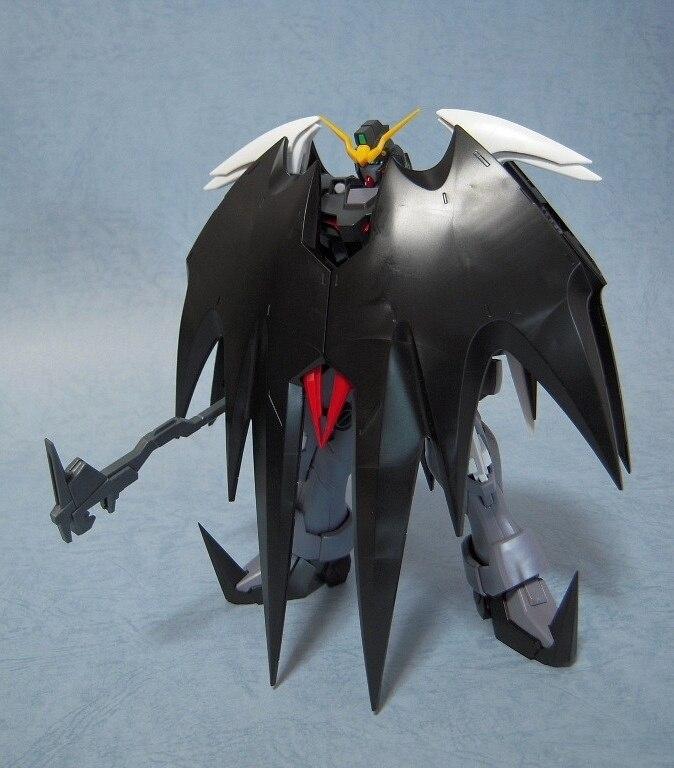 Momoko Gundam W Model MG Wing Deathscythe Hell EW XXXG-01D2 Endless Waltzl 1/100 Scale Action Figures Robots kids assembled toys