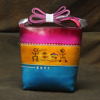 Designer Genuine Leather Messenger Bag Handmade High Quality Women Handbag Small Vintage Shoulder Bag For Female