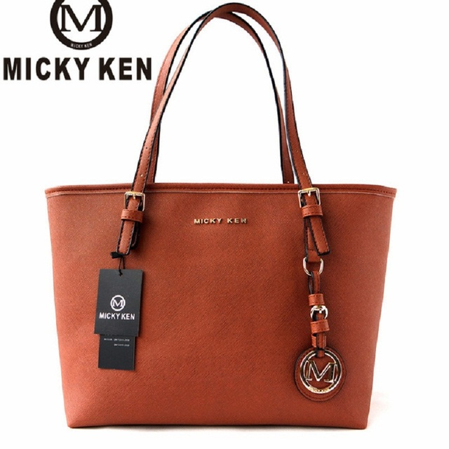 MICKY KEN Brand new2017 women handbags big pu leather quality letter female  bag designer bolsos mujer 29199b0267d1a
