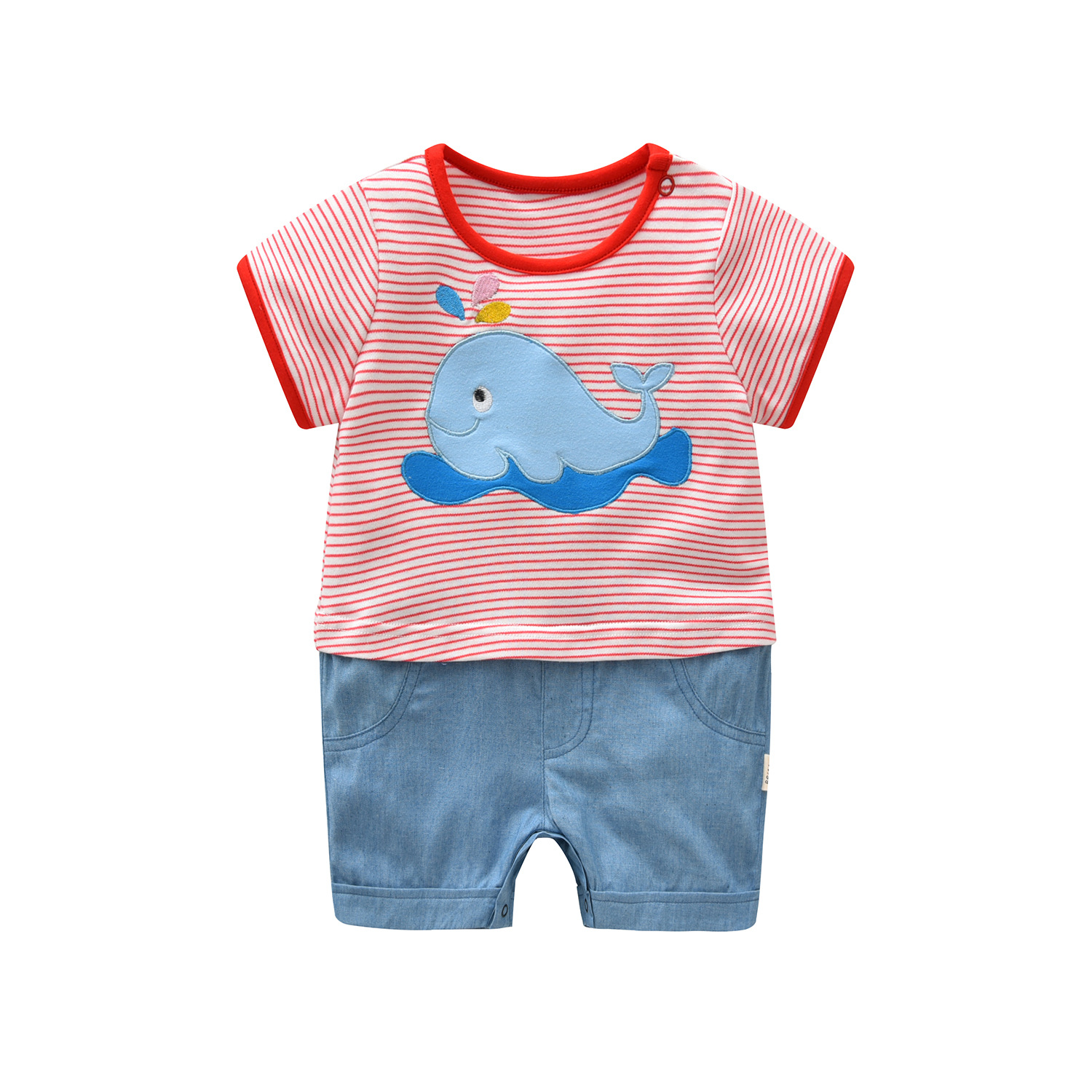 Baby Rompers Summer Baby Girl Clothes Cartoon Newborn Baby Clothes