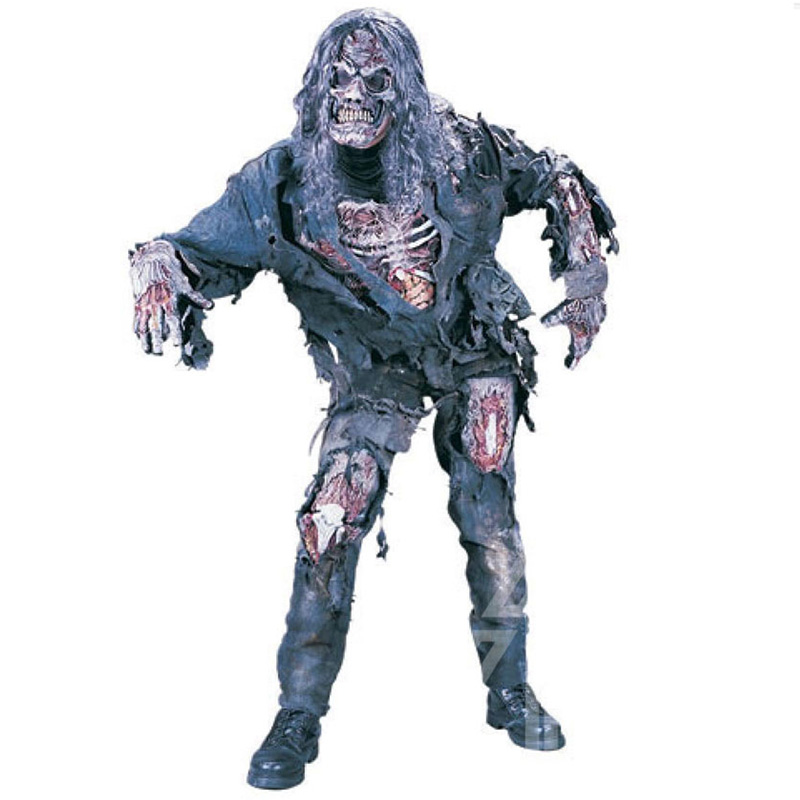 Halloween Costume Adult Demon Ghost Zombie Clothing Set Scary Costumes Horror Corpse Performance Clothes