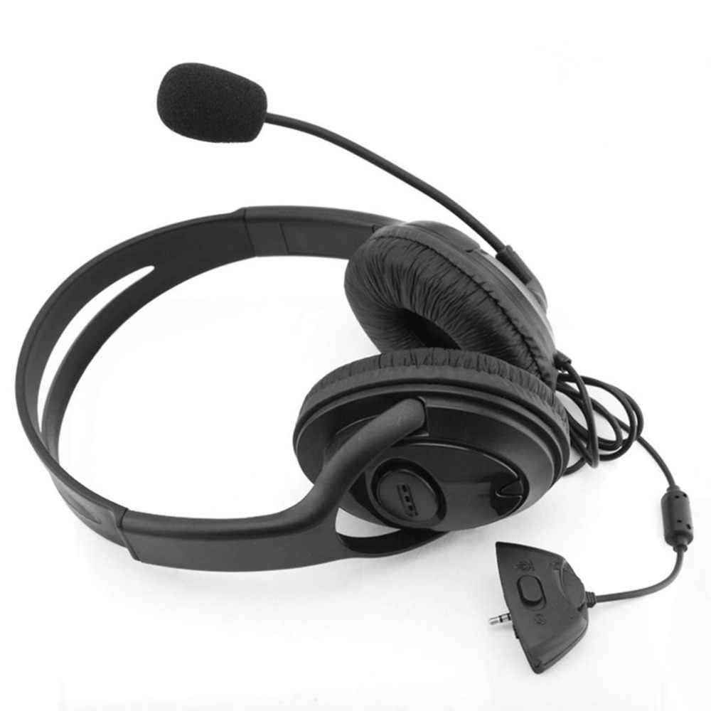 سماعة الألعاب مع ميكروفون قابل للتعديل ل Xbox 360 إلغاء الضوضاء لعبة سماعة دائم سماعات ستيريو هبوط السفينة