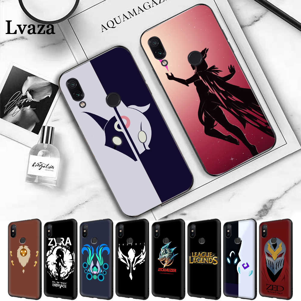 Lavaza League Of Legends game Gekleurde Siliconen Case voor Xiaomi Redmi 4A 4X 5A S2 5 Plus 6 6A Note 4 Pro 7 Prime