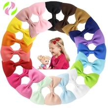 20PCS Cute Bowknot Baby Girls Hair Clips Pin Bows Barrette Hairpin Accessories Child Hair Ornaments Hairclip Headdress Hairgrip