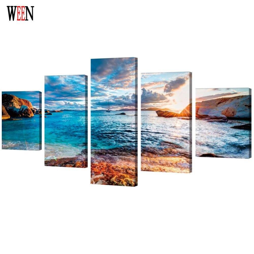 HD надрукований плакат з морським - Домашній декор