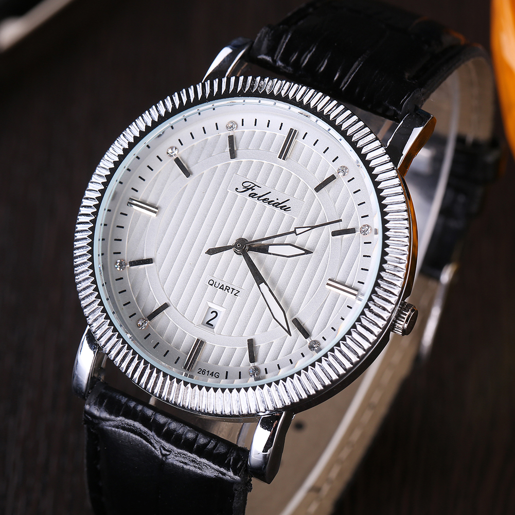 Watches Men Luxury Brand Beinuo Quartz Watches Men Leather Watch Casual Wristwatch Male Clock relojes hombre fashion black full steel men casual quartz watch men clock male military wristwatch gift relojes hombre crrju brand women watch