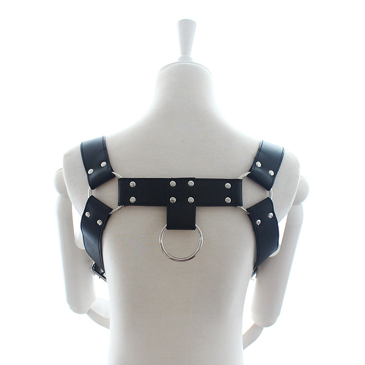 New Fashion Leather Style WRB982 Women Harness Bondage Beach Shoulder Chain Collar Choker Silver Necklace Jewelry Accessories