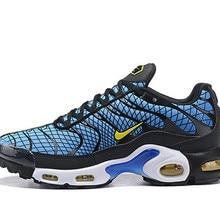 aabca83b615 Original NIKE Air Max Plus TN Se Greedy OG AV7021 001 Men s Sport Running  Shoes Trainer