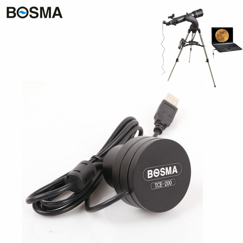 Bosma 2MP Pixels Usb 2.0 Port Free Drive CCD Electronic Eyepiece Astronomical Telescope Connecting Computer Photography Video qhyccd astronomical cooled ccd qhy9
