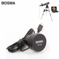 Bosma 2MP Pixels Usb 2.0 Port Free Drive CCD Electronic Eyepiece Astronomical Telescope Connecting Computer Photography Video