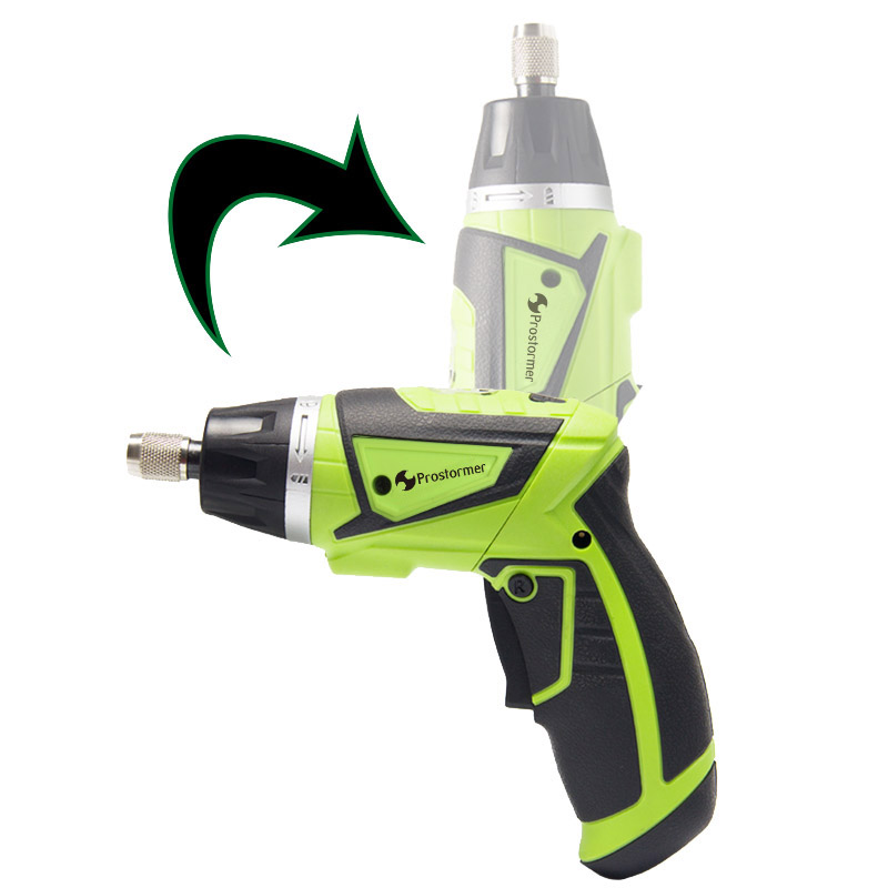 цена на 7.2V Multifunction Electric Screwdriver Rechargeable Li-ion 18650 Battery Mini Electric drill Lithium battery DIY Power tools