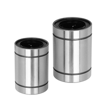 2 pçs/lote Frete grátis LM25UU LM30UU LM35UU LM40UU linear bearing peças para impressora 3D
