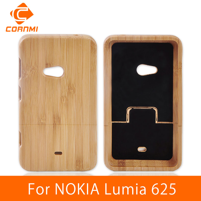 size 40 0a250 674e3 CORNMI For NOKIA Lumia 625 Back Cover Wood Case Brand New Phone Cases For  NOKIA 625 Lumia Housing Woody Hard Protector Cover HTH-in Fitted Cases from  ...