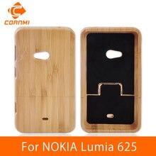 CORNMI для Nokia Lumia 625 задняя крышка дерево чехол Фирменная Новинка Телефон Чехлы для Nokia Lumia 625 Корпус Вуди Жесткий протектор крышка HTH