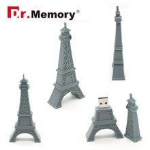 USB 2.0 Flash Drives Eiffel Tower Pendrive 32GB 4GB 8GB Memory Stick 16GB U Disk