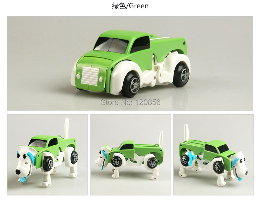 Transformeeruv ja liikuv auto-koer