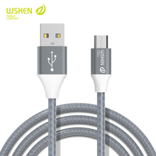 WSKEN Micro USB Charger Cable for Samsung Xiaomi LG Fast Charging & Date Sync Cord Microusb Wire Android Mobile Phone Cables