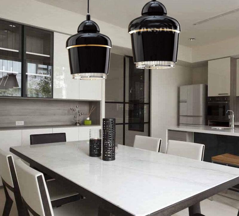 Artek moderna Lampade A Sospensione Per Sala Da Pranzo Cucina Metallo Mini oro Infissi Lampada E27 110 V 220 V Illuminazione Domestica Lamparas 2016 nuovo - 6
