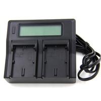 EN EL15 AC/DC LCD Dual Battery Charger For Nikon D7100 D7000 D750 D600 D810 D610