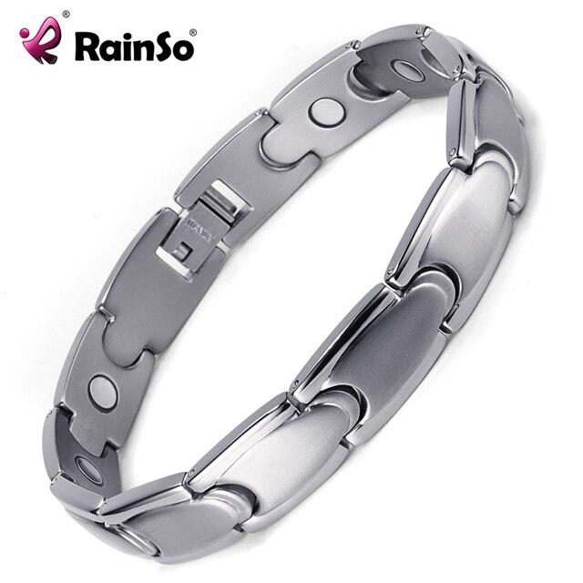HTB14egzRVXXXXcoapXXq6xXFXXXL - Health Care Magnetic Titanium Bracelets & Bangles for Men