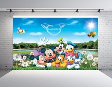 SHENGYONGBAO Vinyl Custom Photography Backdrops Cartoon theme Photo Studio Props horizontal Background BRW-SS-00042