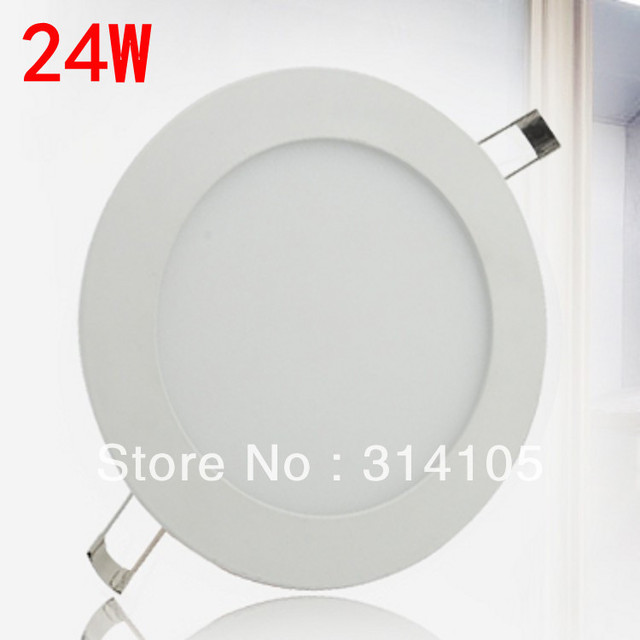 free shipping15w 18w 20w  24w led panel light 85-265V ultrathin 2400lm warm/cool white smd2835 led ceiling panel light