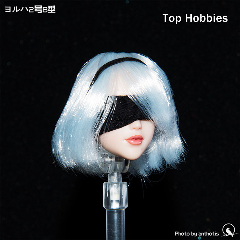 1/6 Scale Female Accessories Neil Machinery Age 2b Sister can move eyes Head Carving Sculpt OB Style Fit 12Phicen Action Figure b06 08 1 6 scale male head accessories carving sculpt model fit 12 inch phicen action figure doll toys