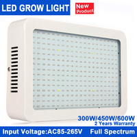 Best Full Spectrum 300W 450W 600W Led Grow Light For Hydroponics Grow Tent Box LED Lamp