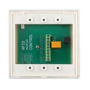 Image 4 - 2000 usuários rfid cartão de controle de acesso 125khz wg, teclado e controle de acesso código, leitor de cartão, 12v dc dc