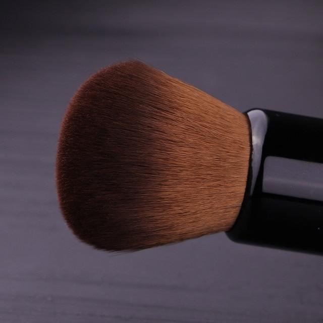 Powder Makeup Brush Wood Handle Dense Soft Round Bristle Full Coverage Face Powder Brushes Blush Contour Brush Make up Tool 4