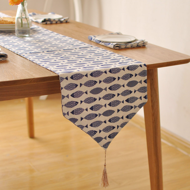 Nordic Dining Table Runner Placemats Upscale Modern