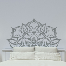 YOYOYU Mandala Vinyl Art Wall Stickers Lotus Flower Namaste Bohemian Removeable Decal Bedroom Home Decoration ZX378 high quality flower fairy shape removeable wall stickers
