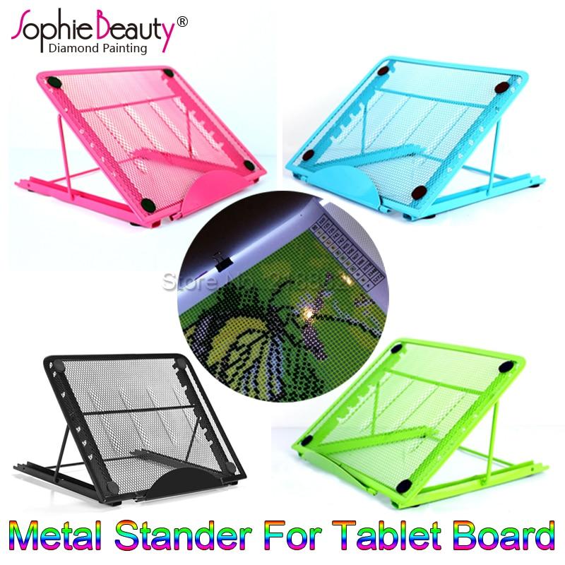 Nuevo Color Metal Stander para A4 Led Light Pad caja Junta Tablet pintura diseño Particular ajuste Multi-ángulo