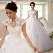 Замуж разрез декольте дважды плечо невесты ремень свадебные тонкий платья кружева
