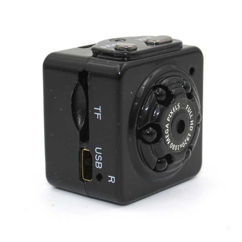 Mini Camera Portable Security Camera 1080P HD Motion Video Surveillance Camcorder IR Night Vision Loop Recording For Car Home