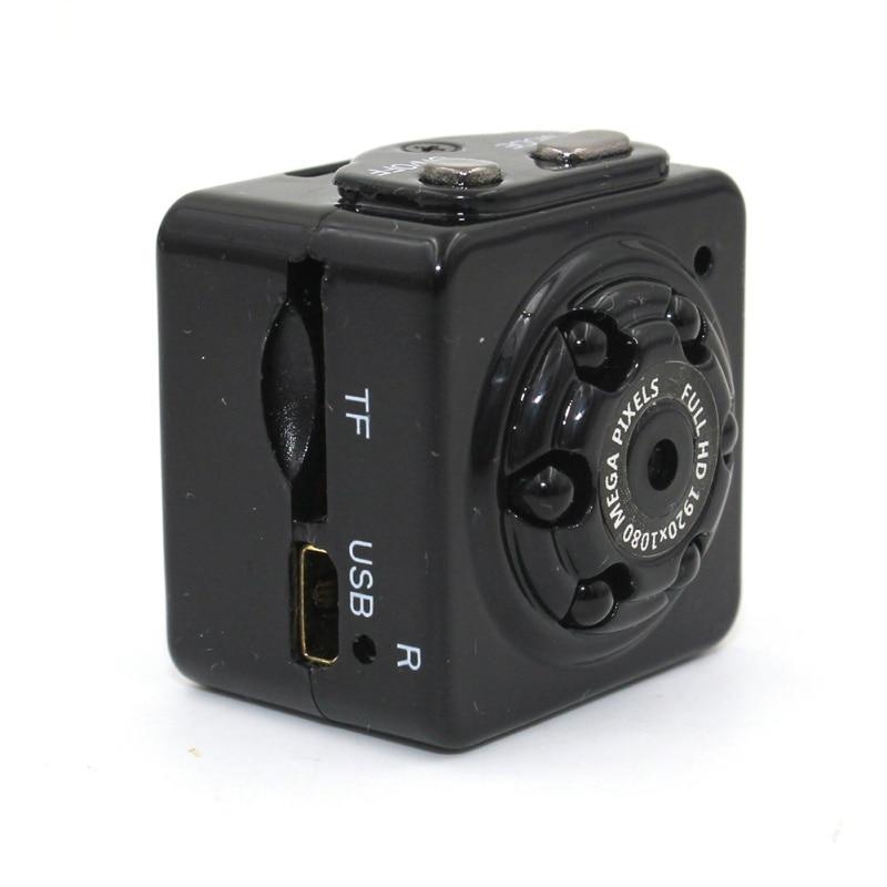 Mini Camera Portable Security Camera 1080P HD Motion Video Surveillance Camcorder IR Night Vision Loop Recording For Car Home