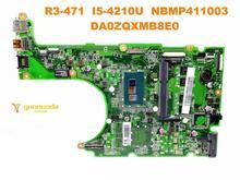 Оригинальный Для ACER R3-471 Материнская плата ноутбука R3-471 I5-4210U NBMP411003 DA0ZQXMB8E0 испытанное хорошее Бесплатная доставка