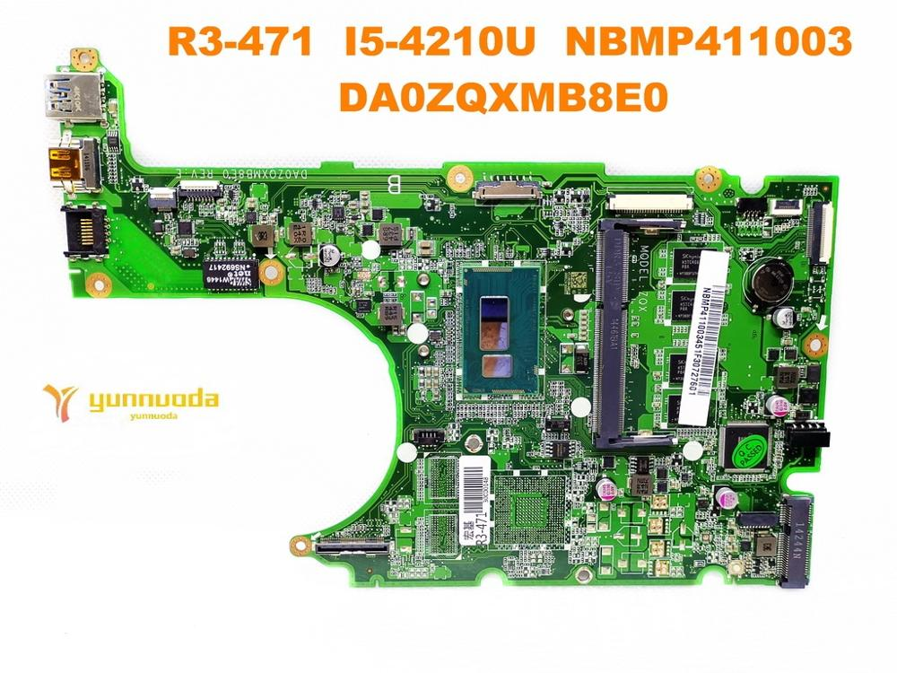 Original for font b ACER b font R3 471 laptop motherboard R3 471 I5 4210U NBMP411003