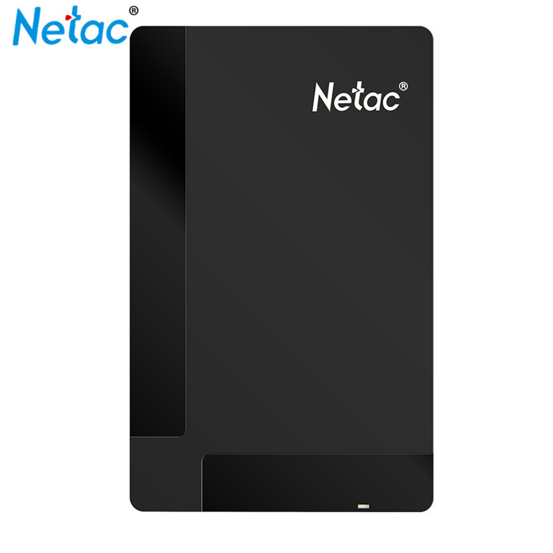 2.5in Netac K218 USB3.0 External Hard Drive 1TB 500GB High Speed HDD Externo Disco HD Disk Storage Devices with Retail Packaging
