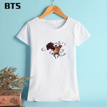 BTS One Piece T-shirt Women Casual Ladies Fashion Hot Sale Summer Style Cute Casual Creative Japanese Anime T Shirts