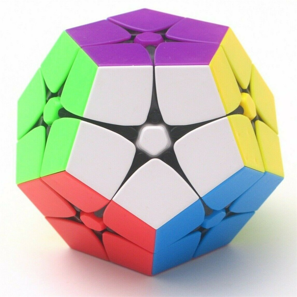 FanXin 2x2 Megaminx Dodecahedron Speed Twist Puzzle Magic Cube Fancy Toy Multi-Color Safe ABS Ultra-Smooth Stickerless 1PCSPuzzles & Games