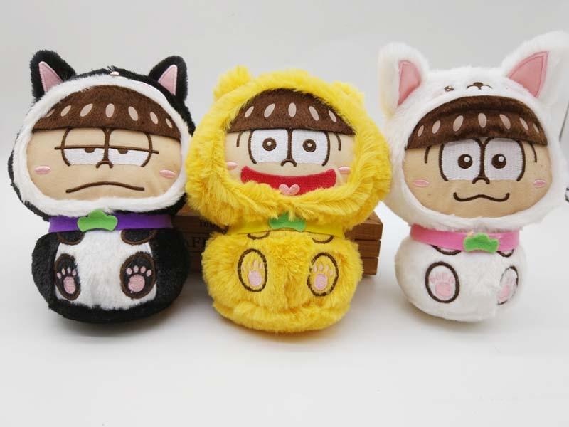 Osomatsu-san MATSUNO KARAMATSU MATSUNO ICHIMATSU JYUSHIMATSU Plush Doll Stuffed Animal
